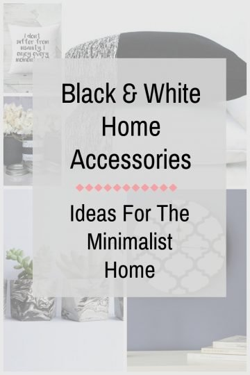 Making a room look finished is all about the accents. I made the mistake of not thinking through how I might want to move my home accessories in other areas of the house and I love multi-functional everything! I should have kept a black and white aesthetic in mind but I didn't. Don't make the same mistake I did, especially if you love getting value of things you buy. Check out her blog post: Black And White Home Accessories Ideas For The Minimalist Home #blackandwhite #minimalisthome