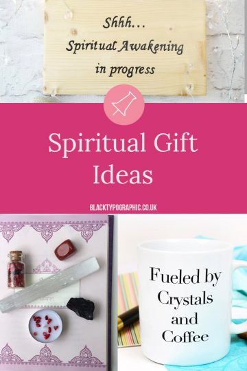 Spiritual Gift Ideas for women - If you're anywhere on your spiritual journey or you have friends who love this kinda stuff then this roundup is for you. I've only scratched the surface of the amazing handmade products that are available from around the globe. So dive in and Pin those that you adore.