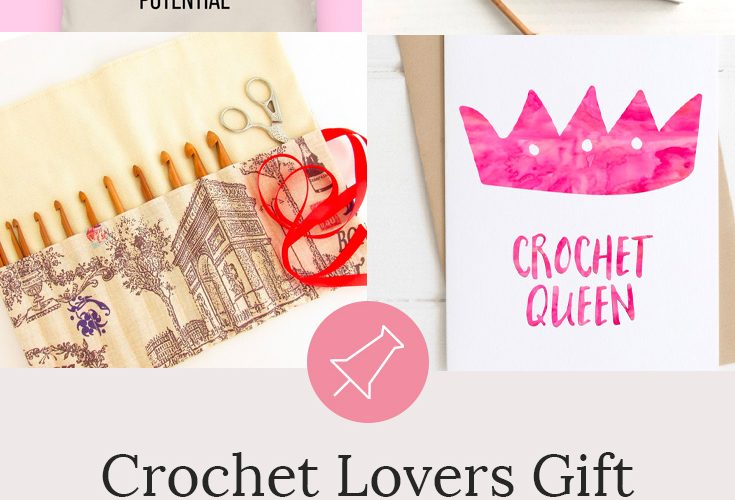 Looking for crochet lover gift ideas? These gifts for crochet lovers are our top 10 handmade gifts for those women who love to crochet. Crochet gift guide for her. View the details here #giftguides #crochet #crafts #yarn #giftsforher #crochetgifts