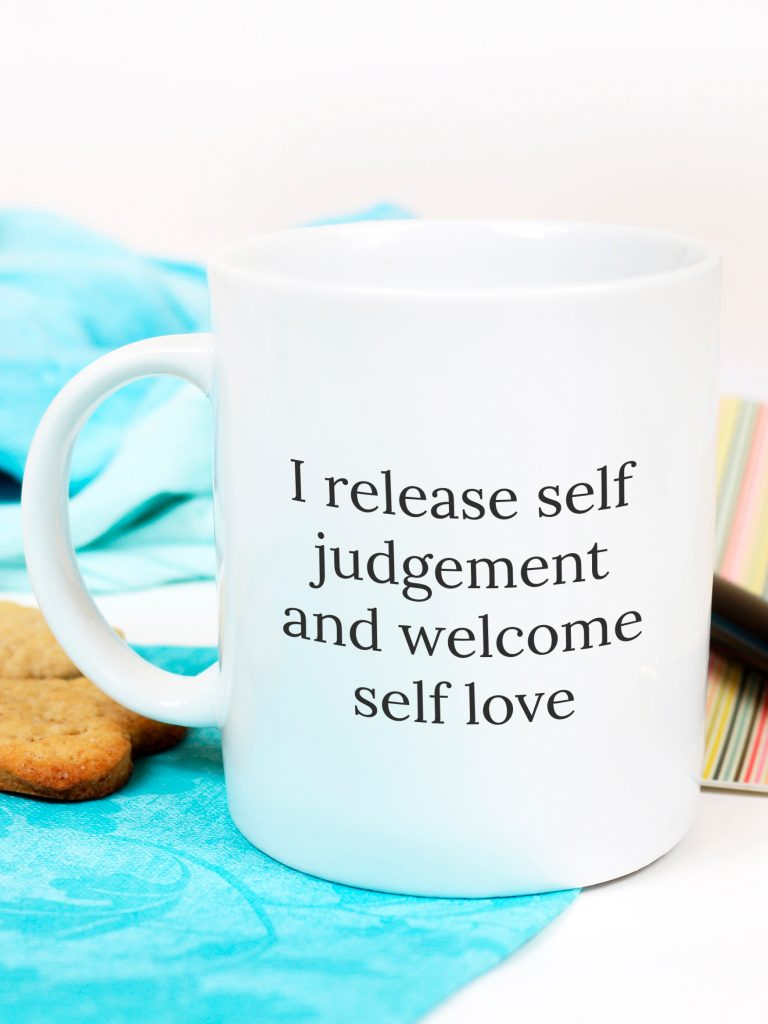Affirmations mug - home decor