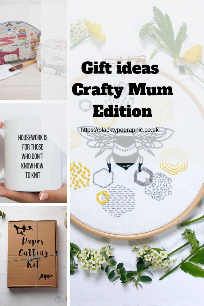 gifts ideas for your crafty mother. check out Black Typographic latest blog post to find the perfect gift for your mom, mom gift ideas for christmas, gifts from daughter #crafty #giftideas #mom #mother #mum
